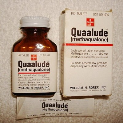 Methaqualone (quaalude) 300 mg